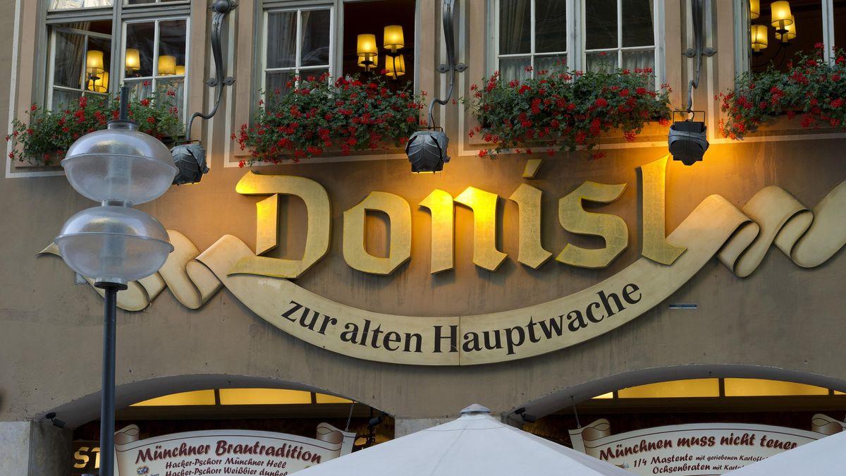 Der Donisl am Münchner Marienplatz