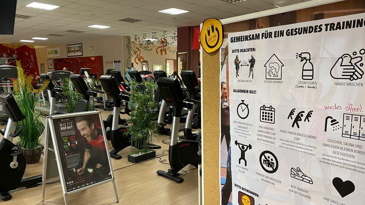 Fitnesstraining in Zeiten von Corona: Strenge Hygieneregeln müssen eingehalten werden