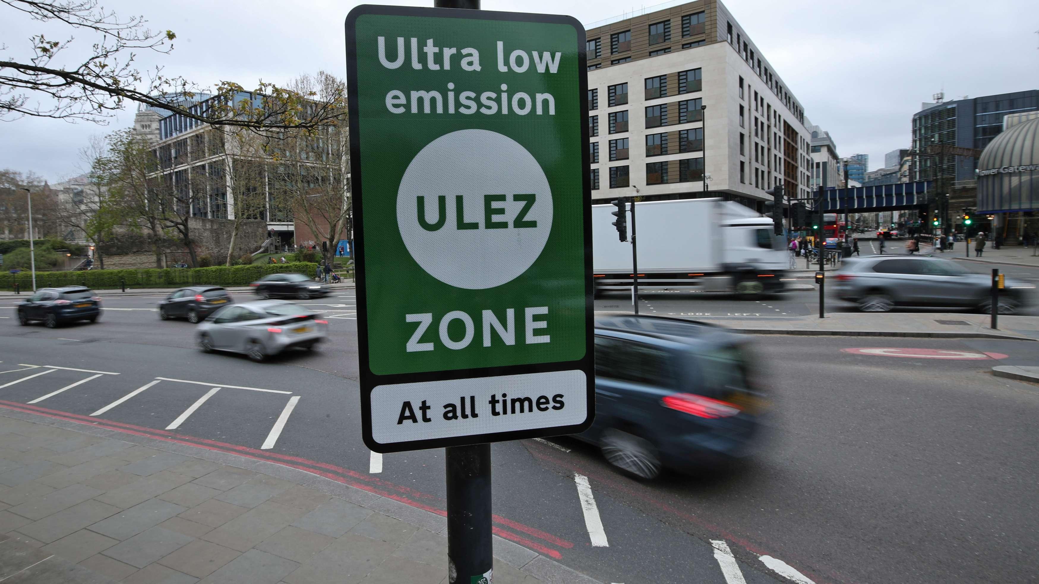 London will weniger Autos im Zentrum haben.