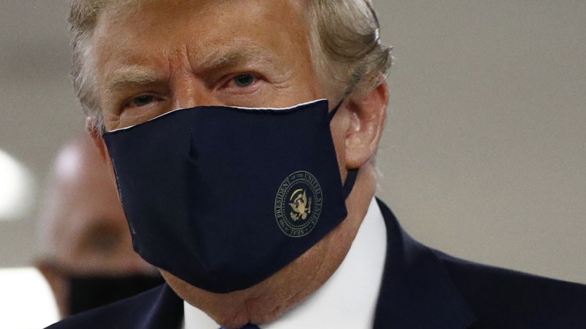 US-Präsident mit Donald Trump