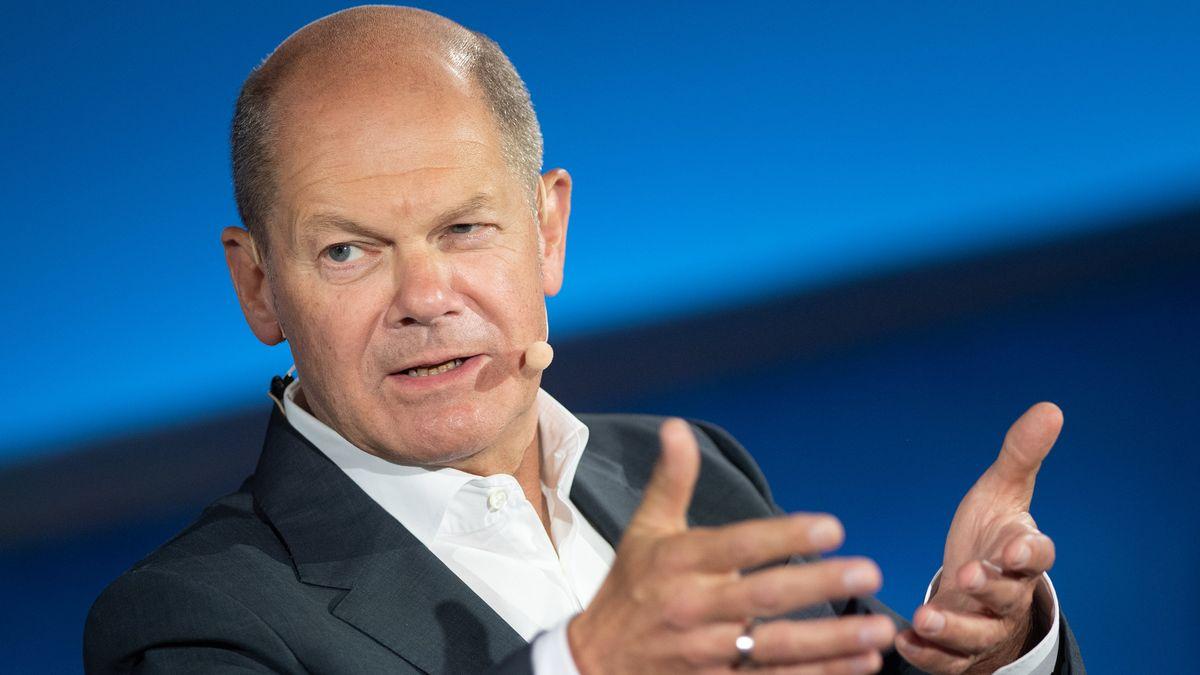 SPD-Kanzlerkandidat und Bundesfinanzminister Olaf Scholz.