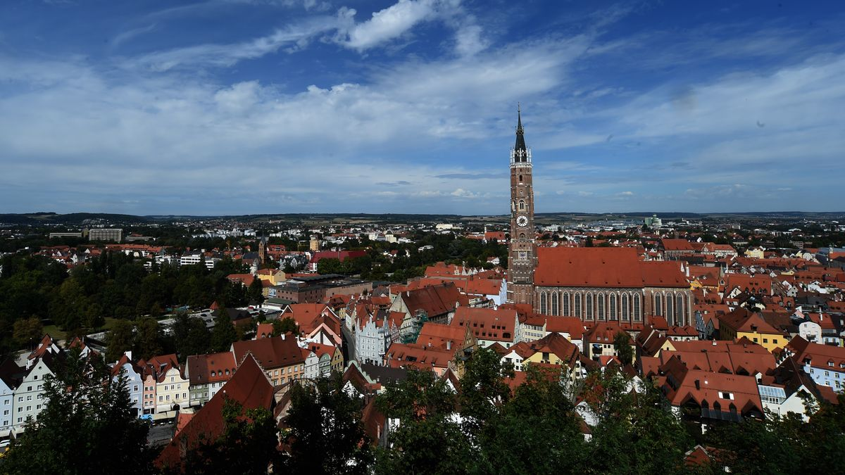 Die Stadt Landshut