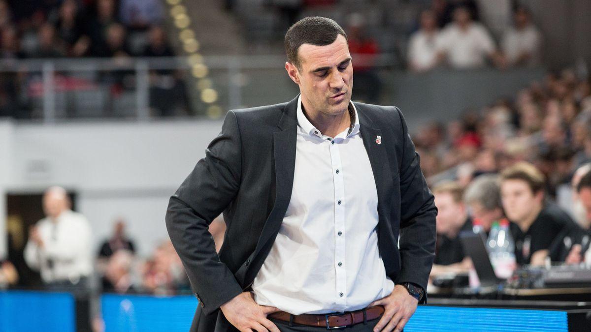 Roel Moors ist nicht mehr Trainer der Brose Baskets