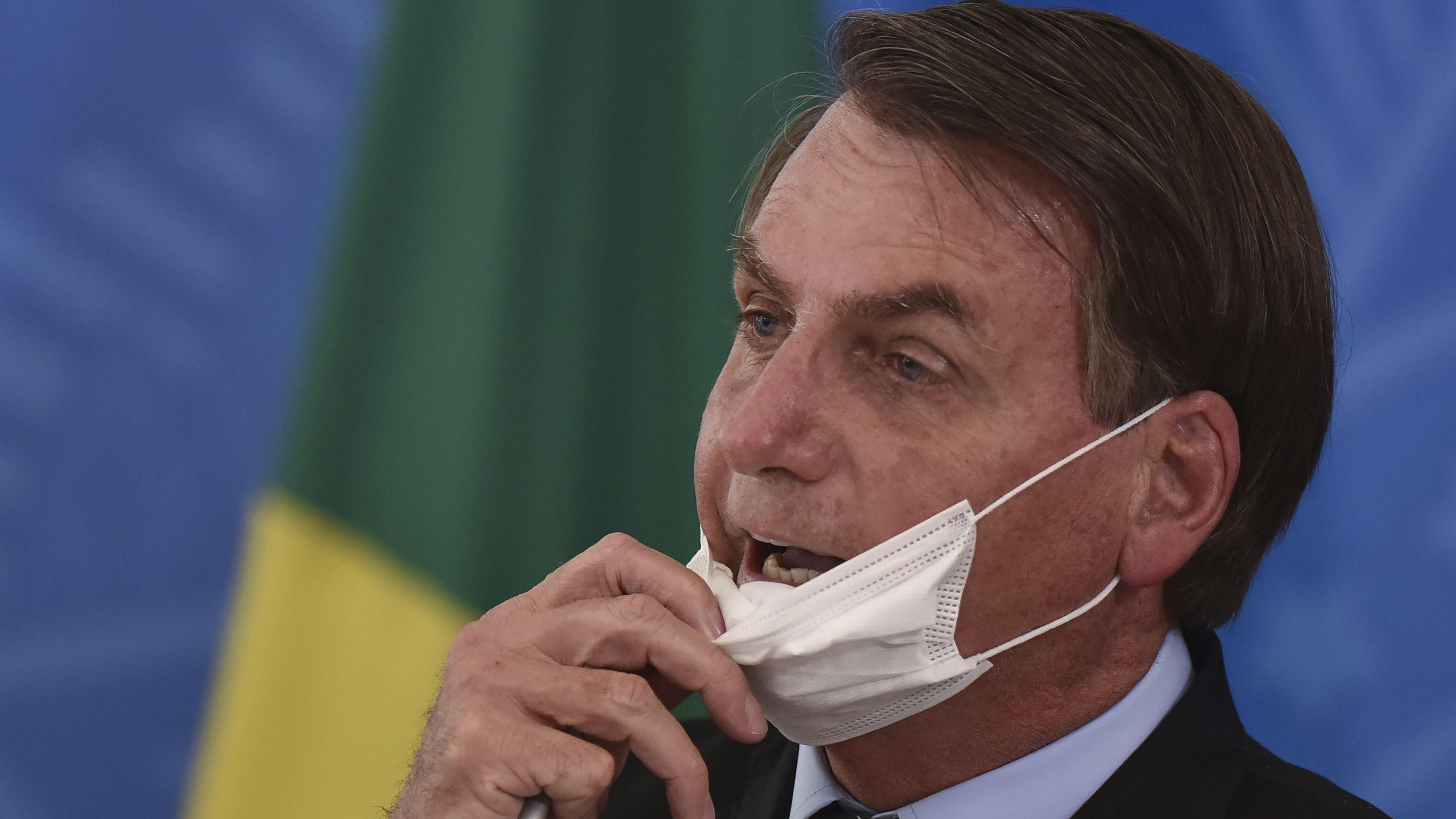 Der brasilianische Präsident Jair Bolsonaro