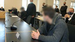 Der Kö-Prozess vor dem Landgericht Augsburg | Bild:DPA/ Karl-Josef Hildenbrand