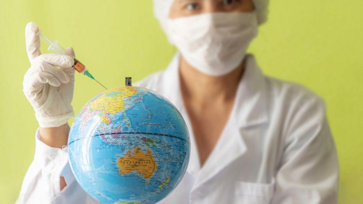 Der aktuelle Coronavirus verbreitet sich als Pandemie