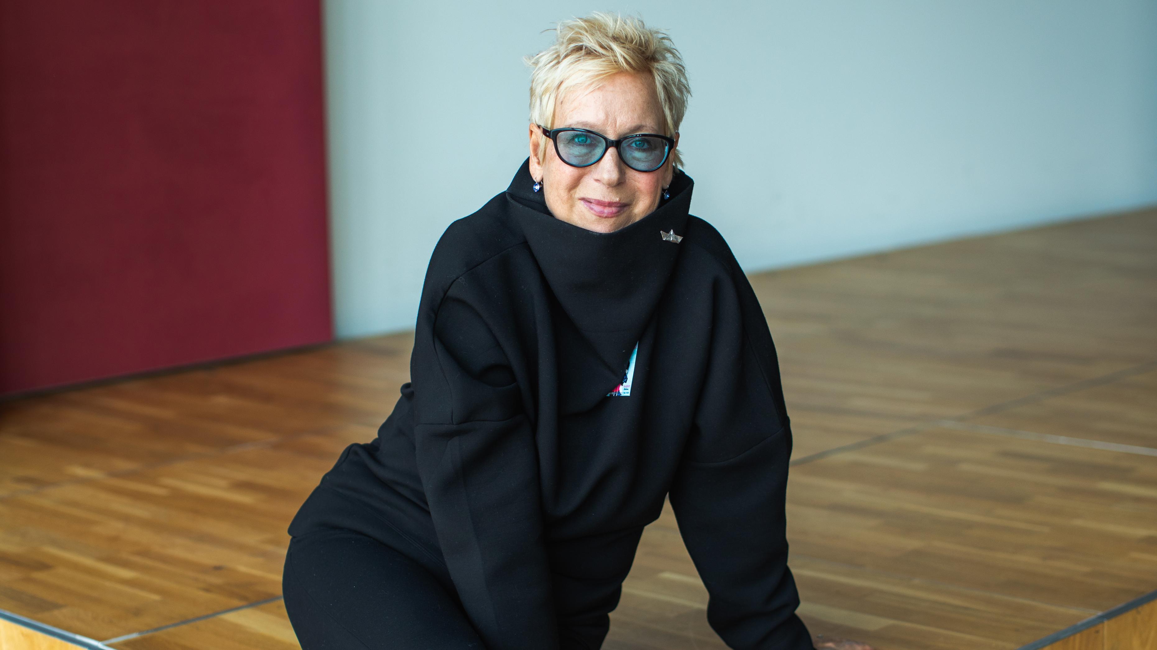 Regisseurin Doris Dörrie beim Filmbrunch