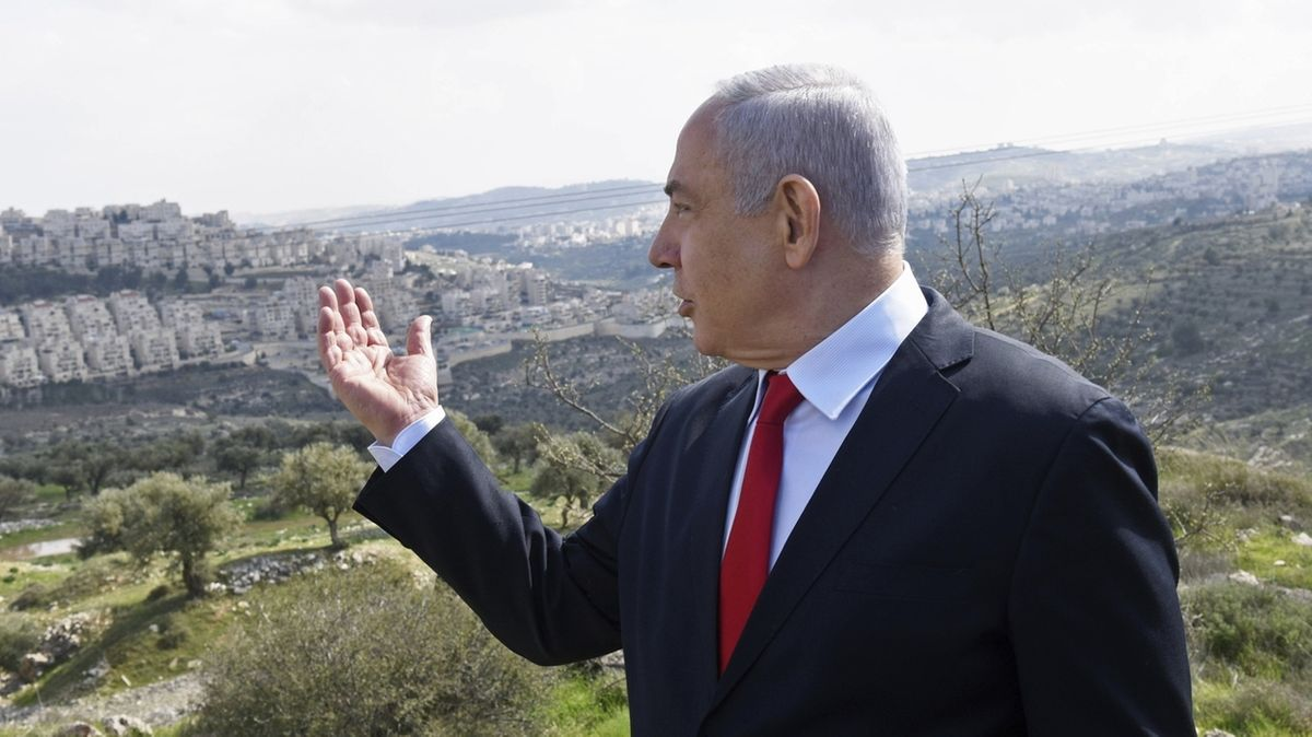 Netanjahu zu Annexionsszenarien