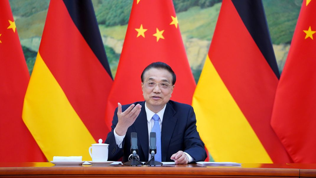 Chinas Ministerpräsident Li Keqian Ende April bei den 6. deutsch-chinesischen Regierungskonsultationen