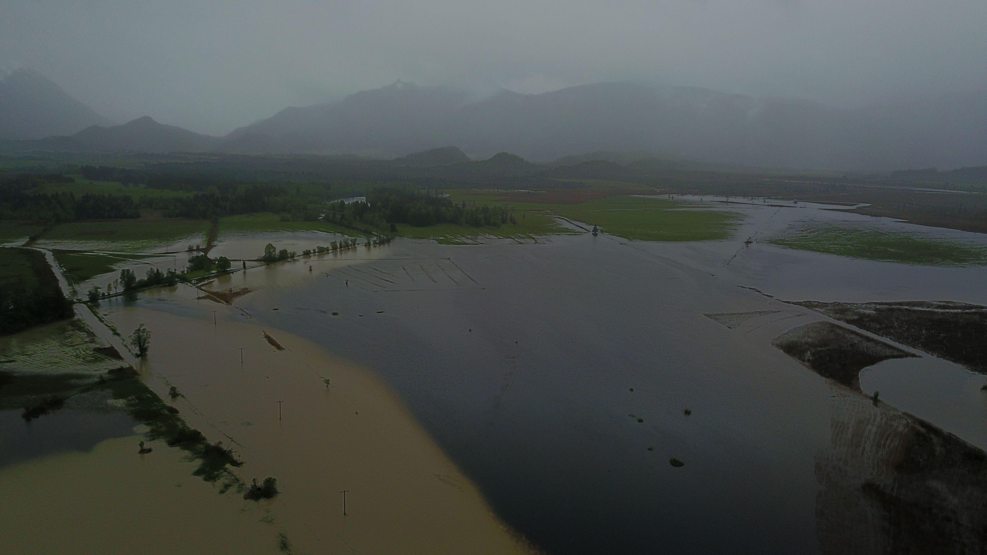 Das Murnauer Moos ist überflutet