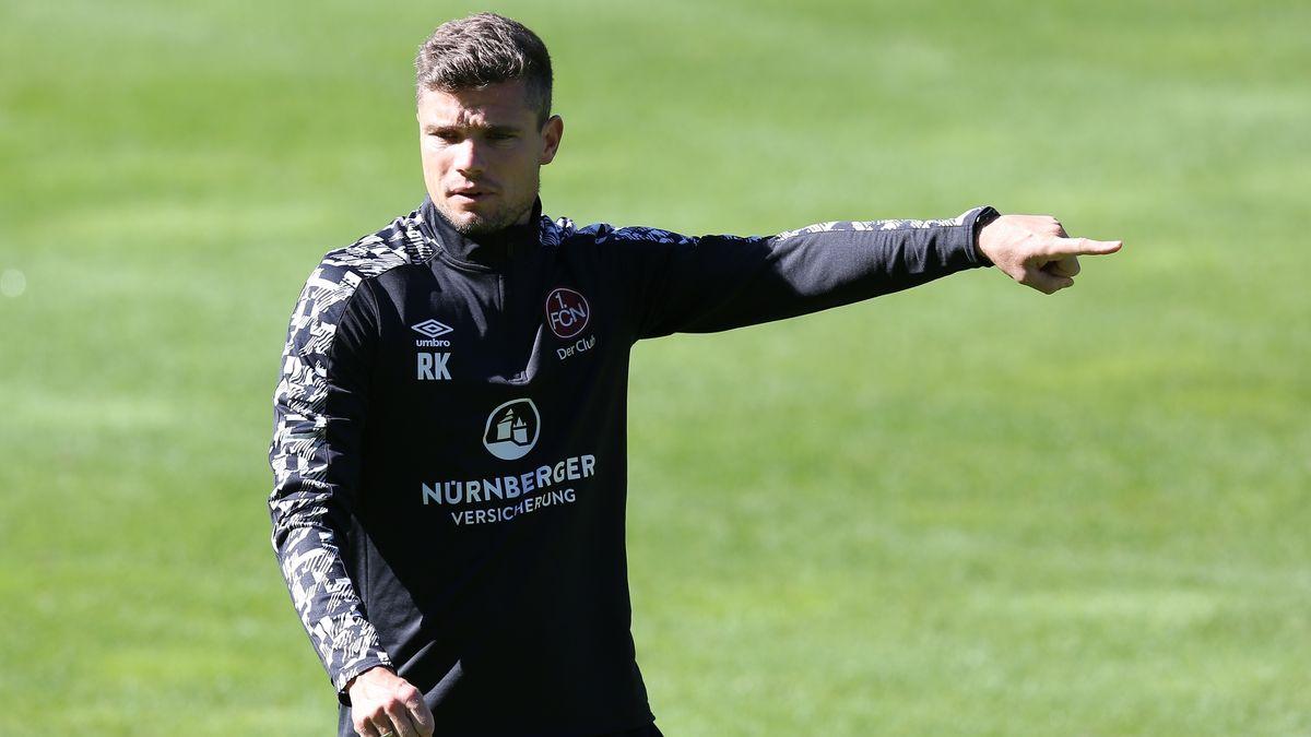 Nürnbergs neue Cheftrainer Robert Klauß