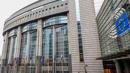 Europaparlament in Brüssel | Bild:pa/dpa/Winfried Rothermel