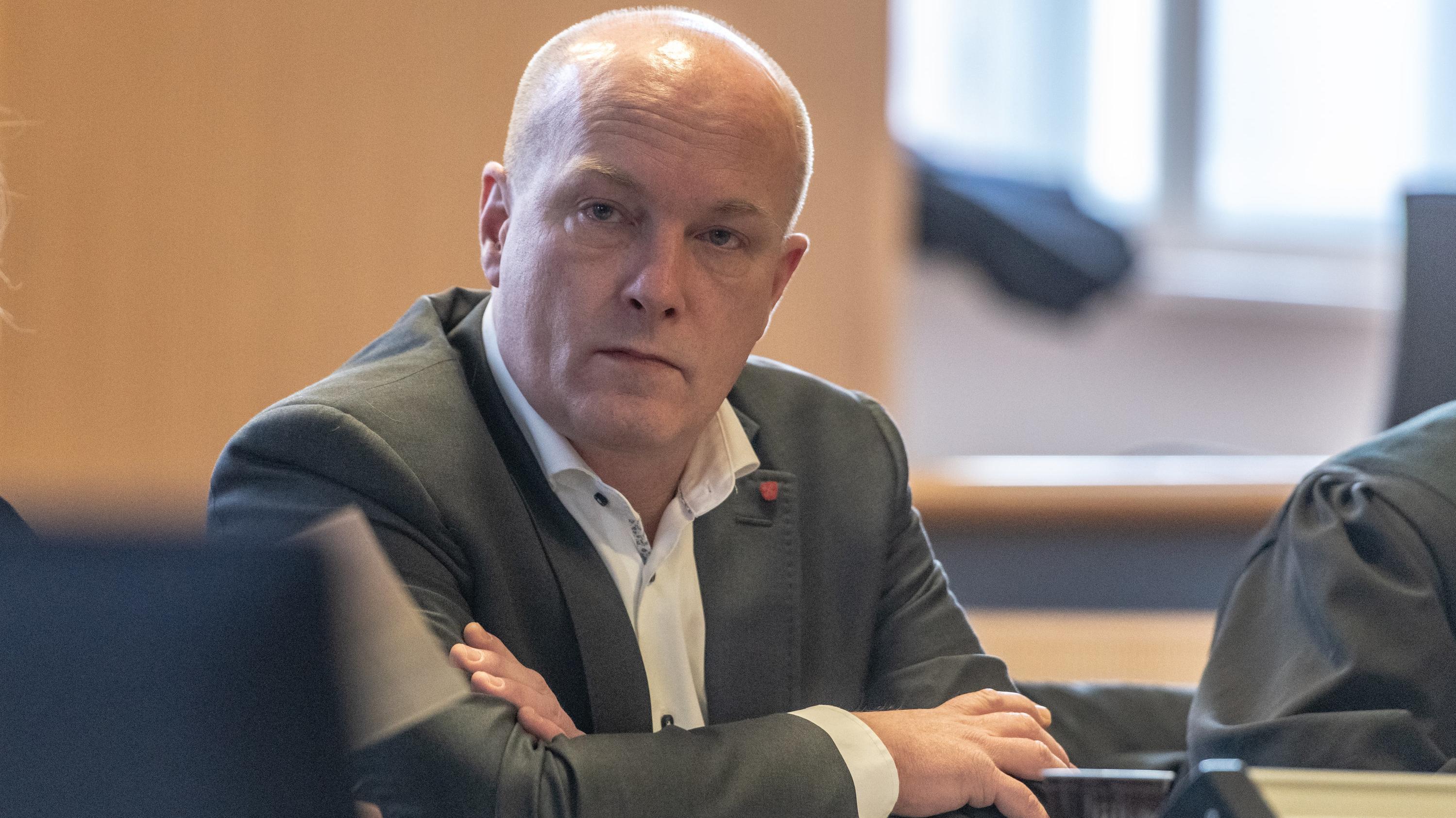Joachim Wolbergs im Gerichtssaal