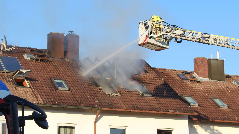 Das brennende Haus in Bayreuth
