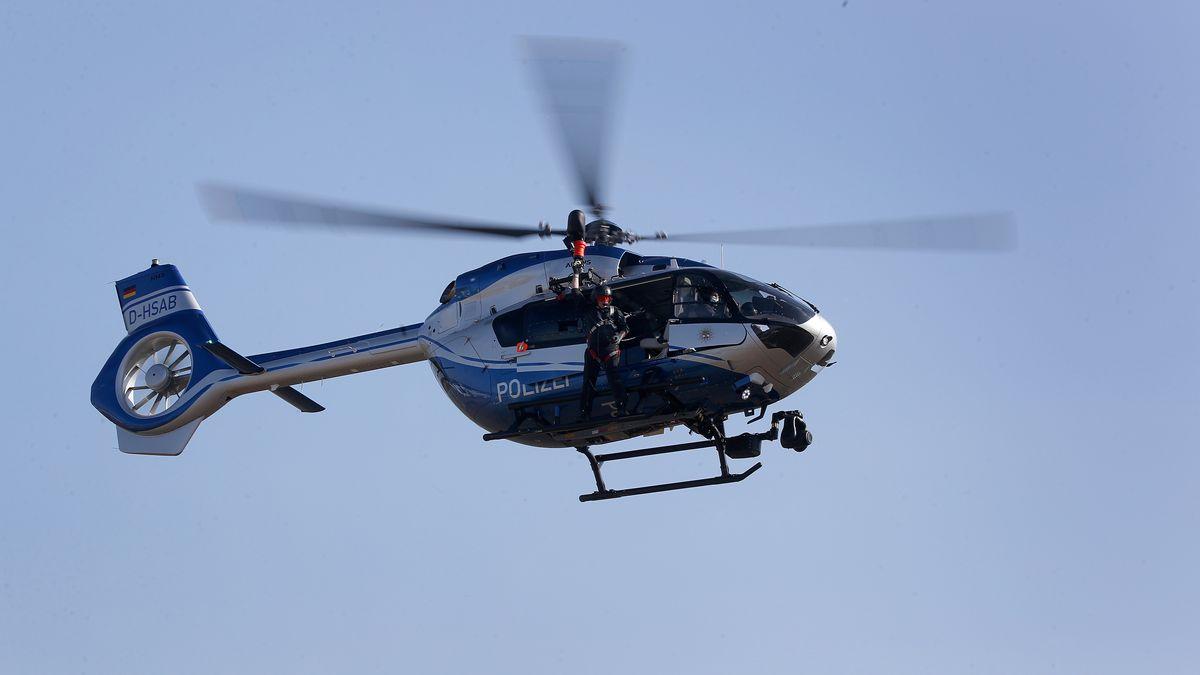 Polizei-Hubschrauber (Symbolbild)