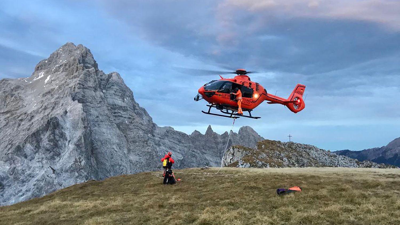 Bergwacht Hubscharuber