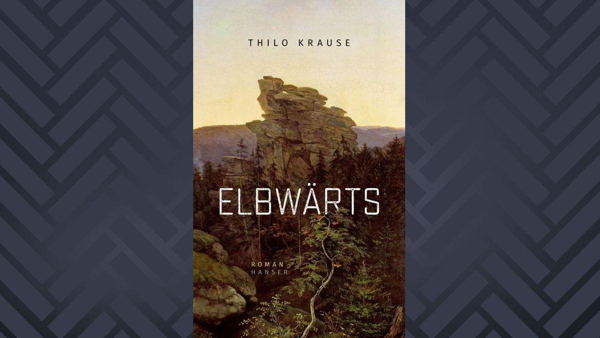 """Umschlagcover """"Elbwärts"""" von Thilo Krause"""
