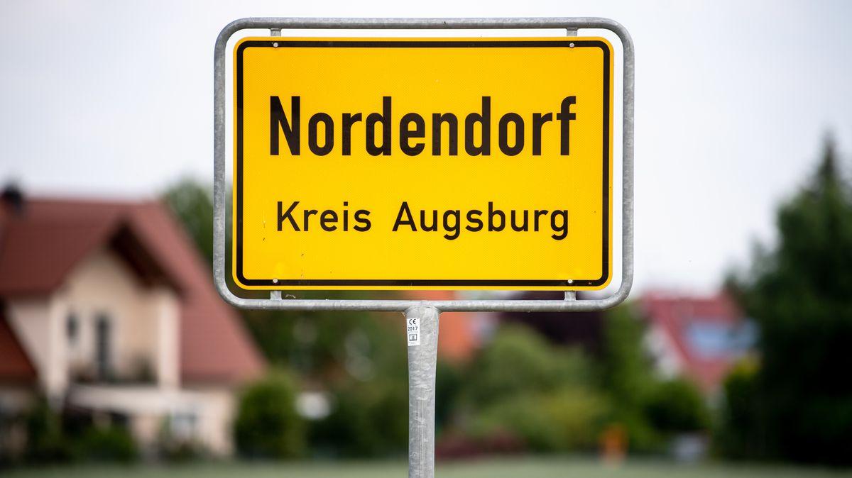 Ortsschild Nordendorf