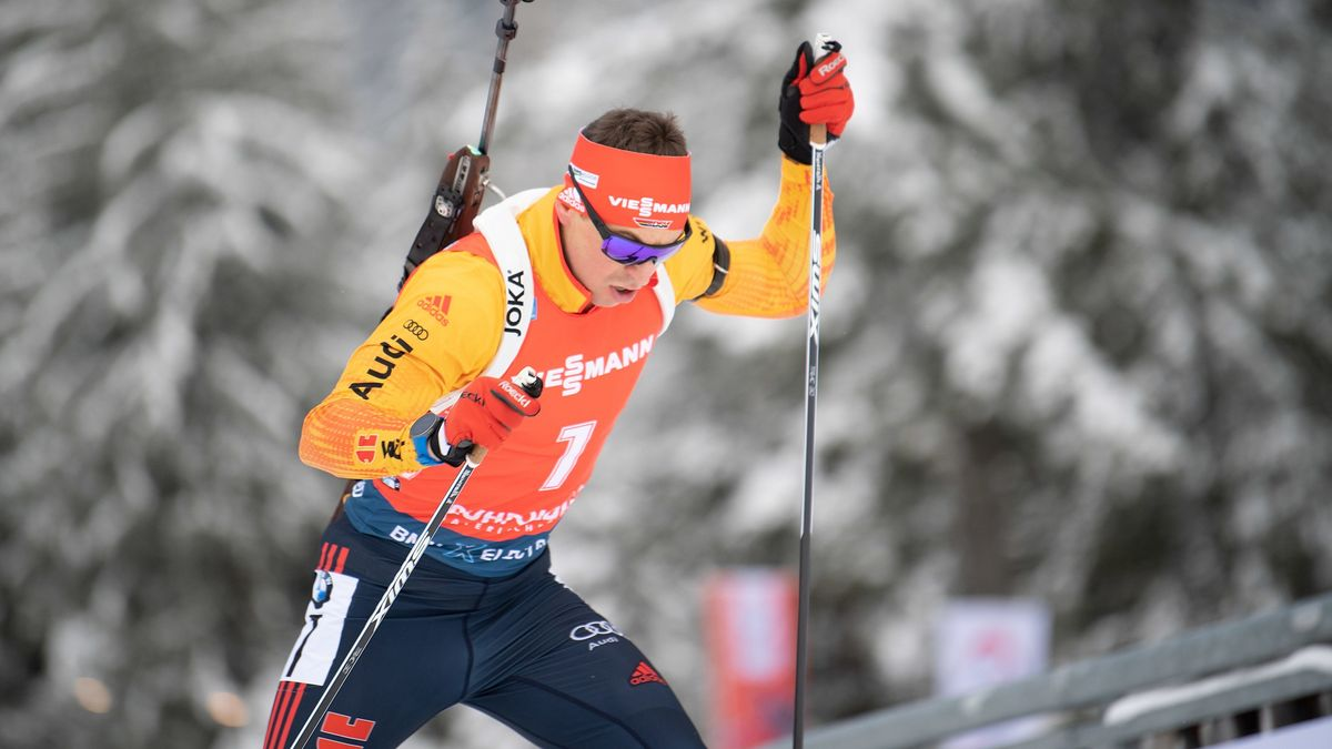 Nawrath in Pokljuka knapp am Podium vorbei