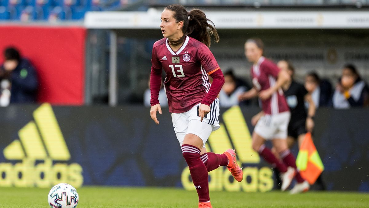 Fußball-Nationalspielerin Sara Däbritz