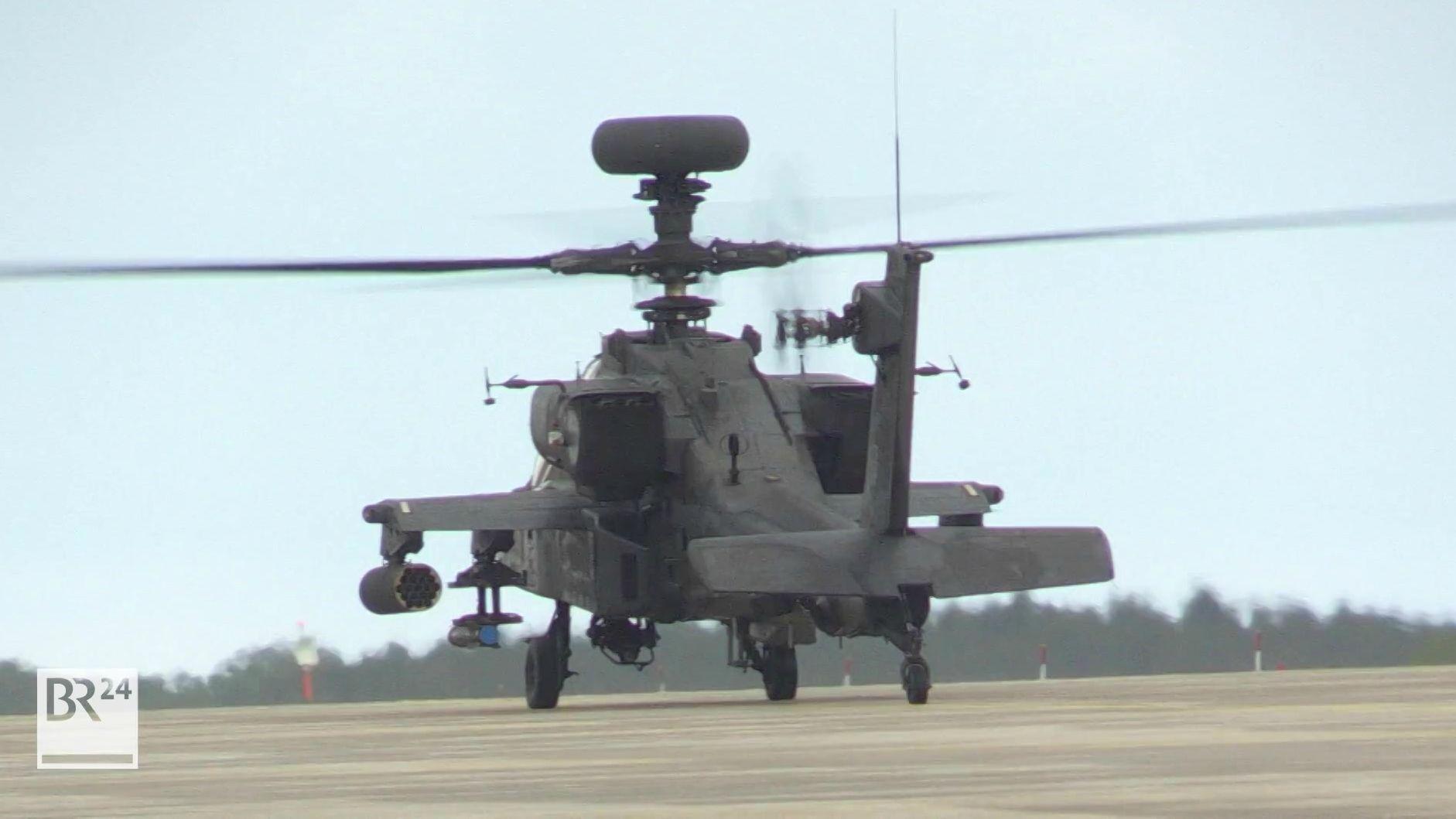 Nachtübungsflüge der US-Armee starten