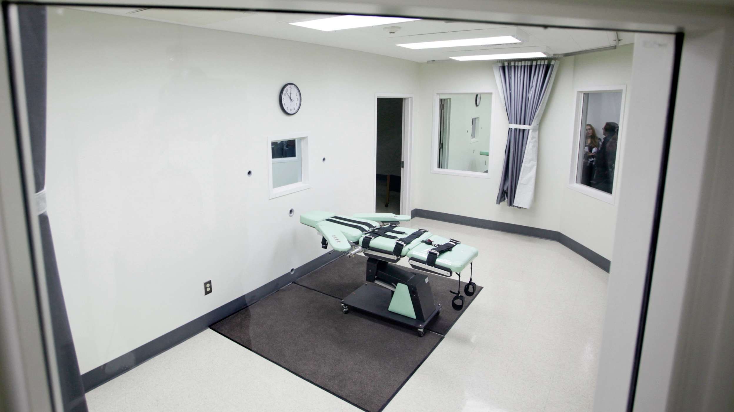 Hinrichtungskammer in den USA.