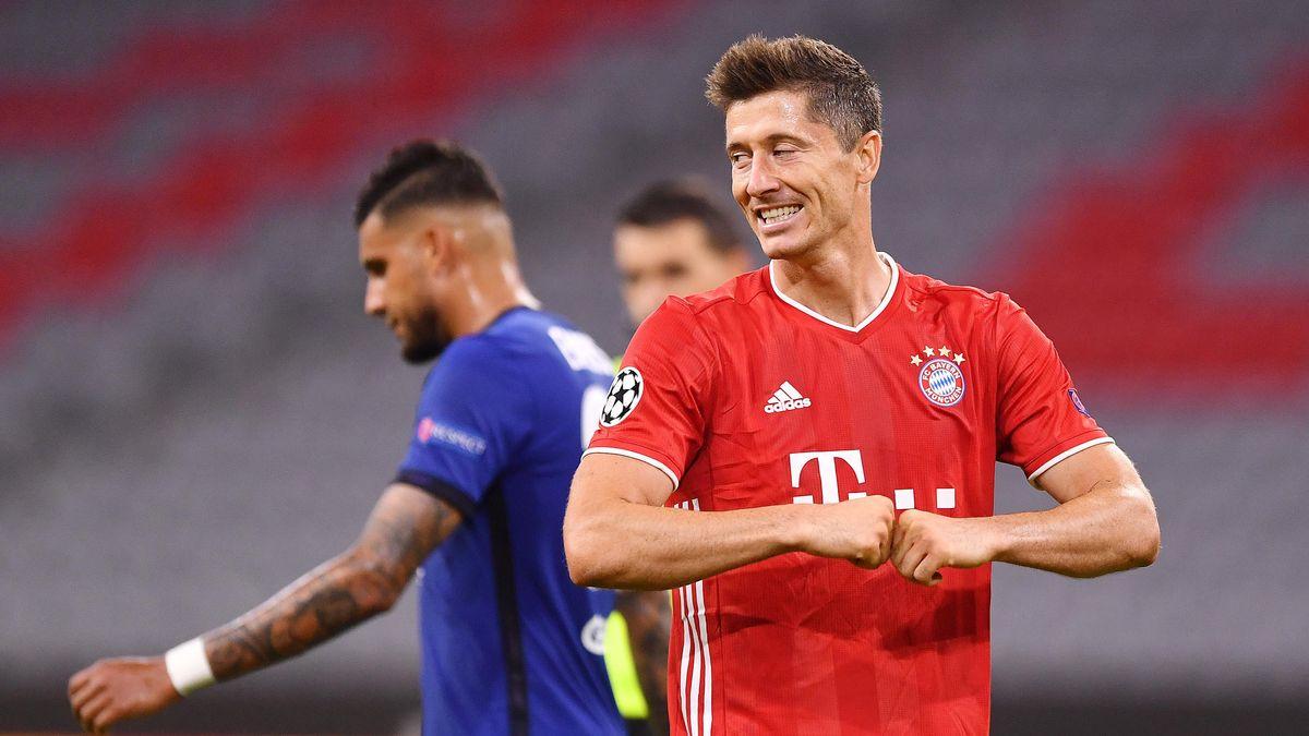 Robert Lewandowski im Champions-League-Rückspiel gegen Chelsea
