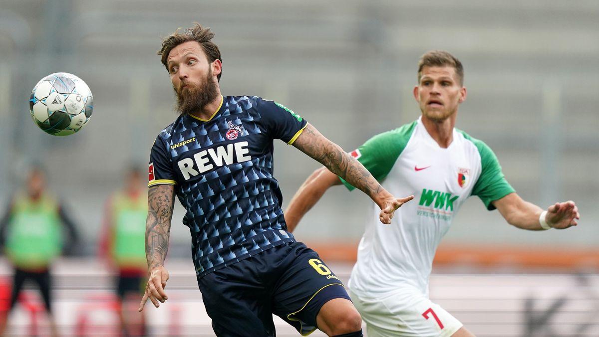 Spielszene 1. FC Köln - FC Augsburg (Archivbild)