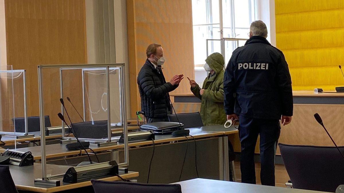 Sitzungssaal am Landgericht Regensburg