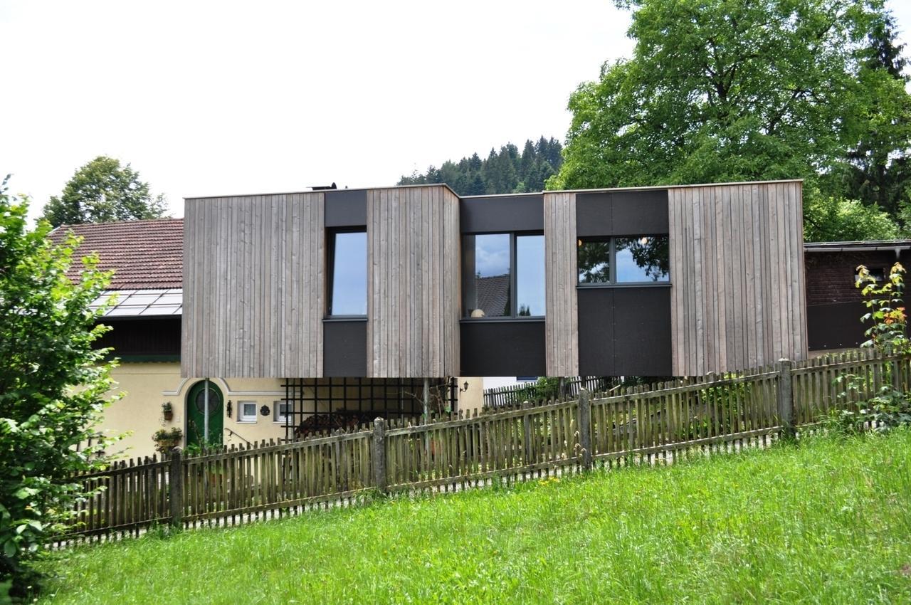 Traumhauser Ein Holzanbau Mit Aussicht