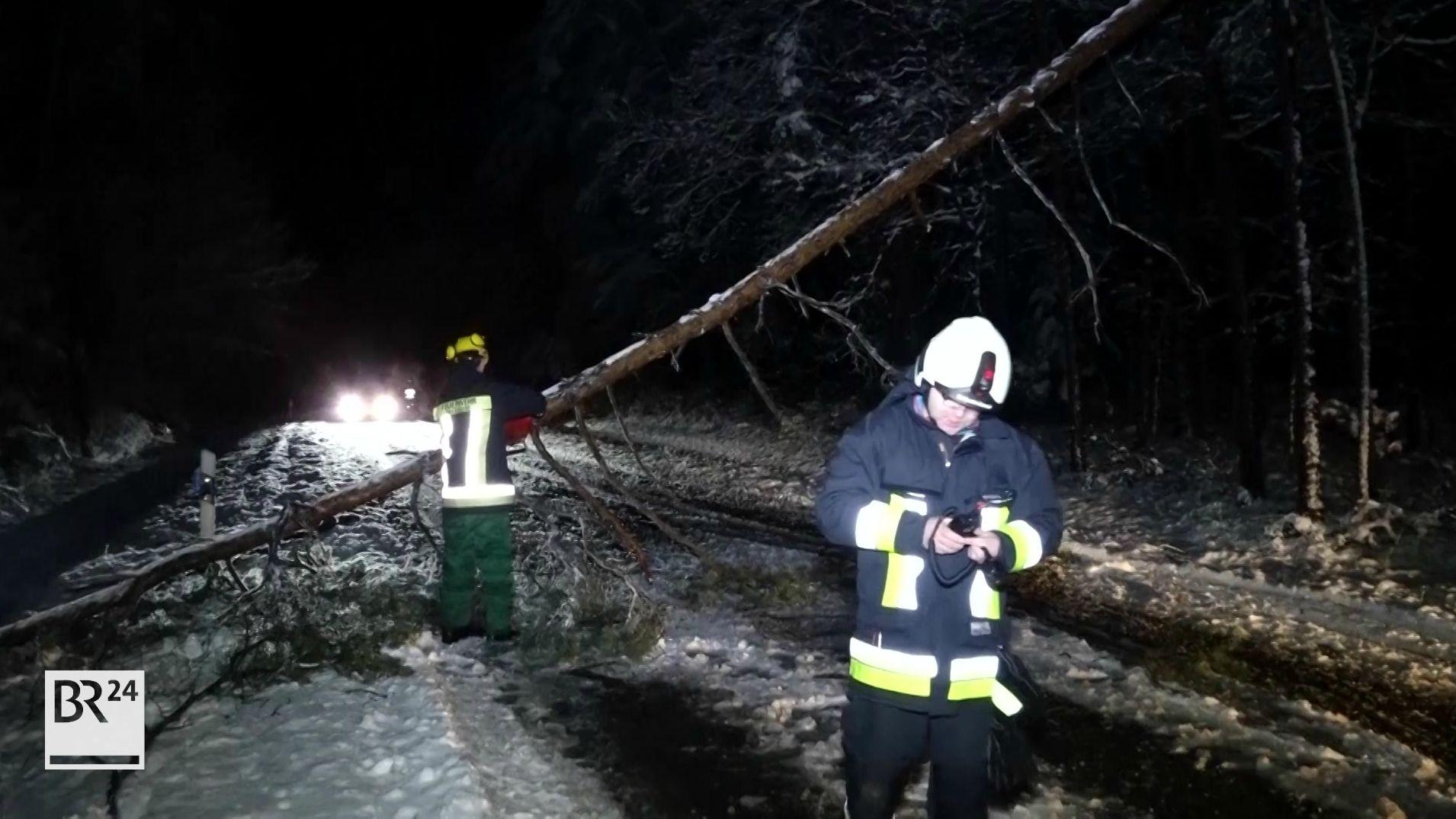 Verkehrslage in Mittelfranken beruhigt sich