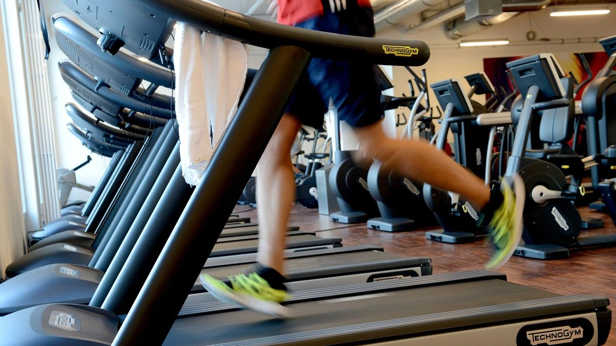 Symbolbild: Fitnessstudio