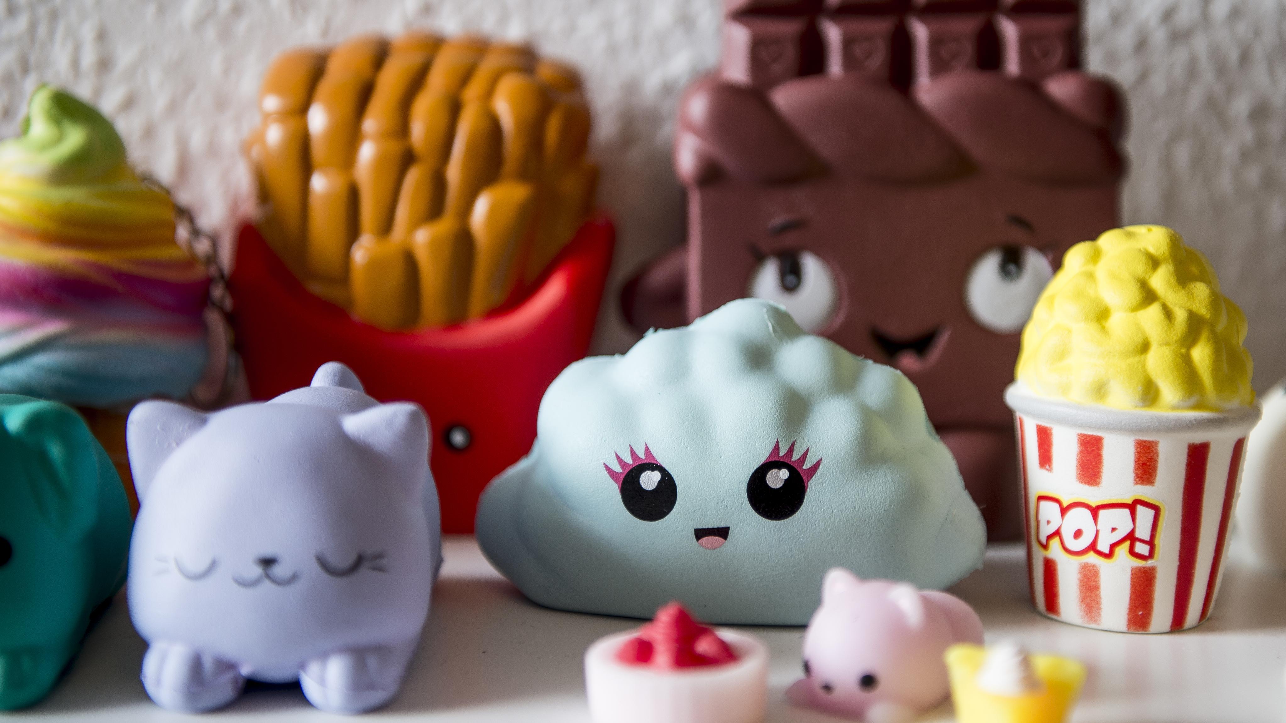 Spielfiguren aus Schaumstoff: Squishies