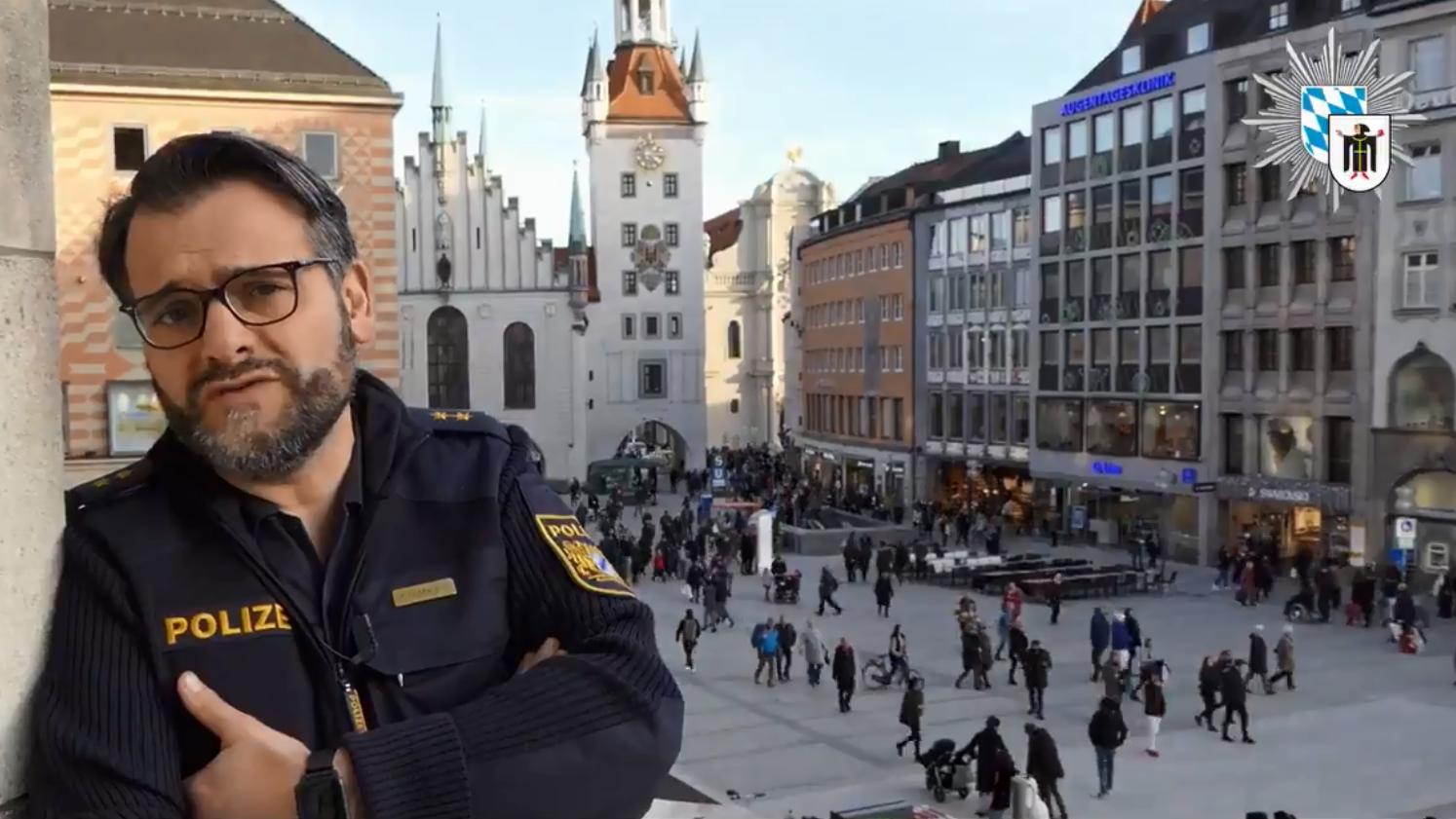 Der Münchner Polizeisprecher Marcus da Gloria Martins warnt vor falschen Polizisten.