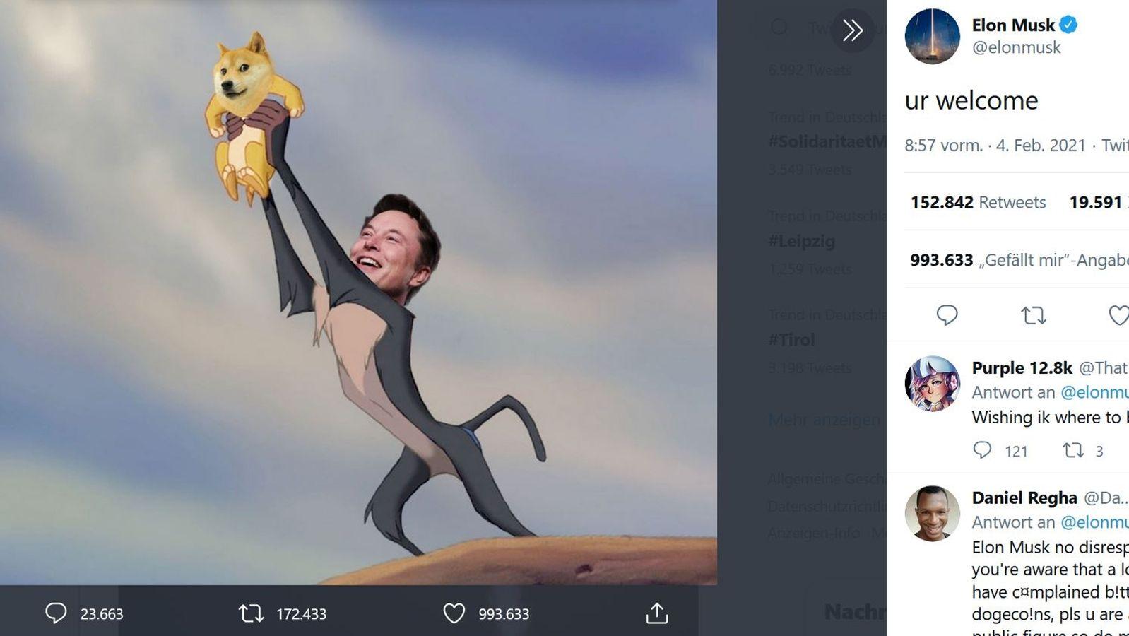 Elon Musk und der Aufstieg der Mem Aktien   BR20