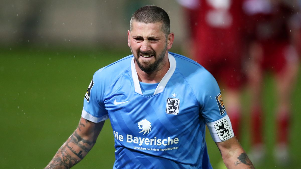 Kapitän Sascha Mölders vom TSV 1860 München