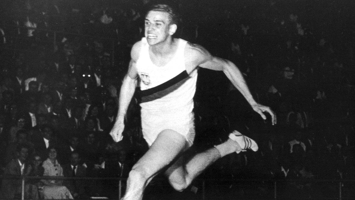 Armin Hary sprintet am 21. Juni 1960 zum Weltrekord