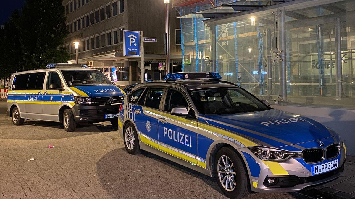 Polizeieinsatz am Nürnberger Kornmarkt