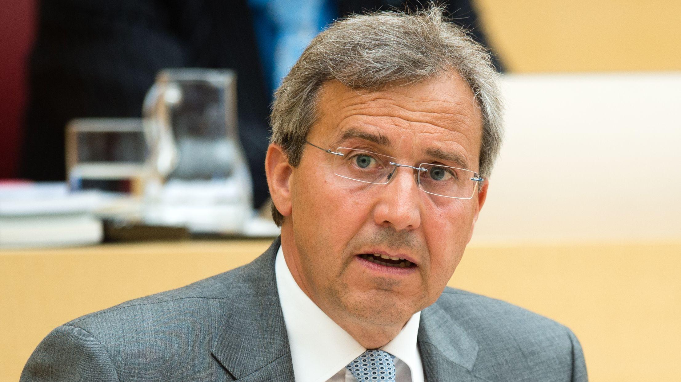 Der Landtagsabgeordnete Franz Rieger.