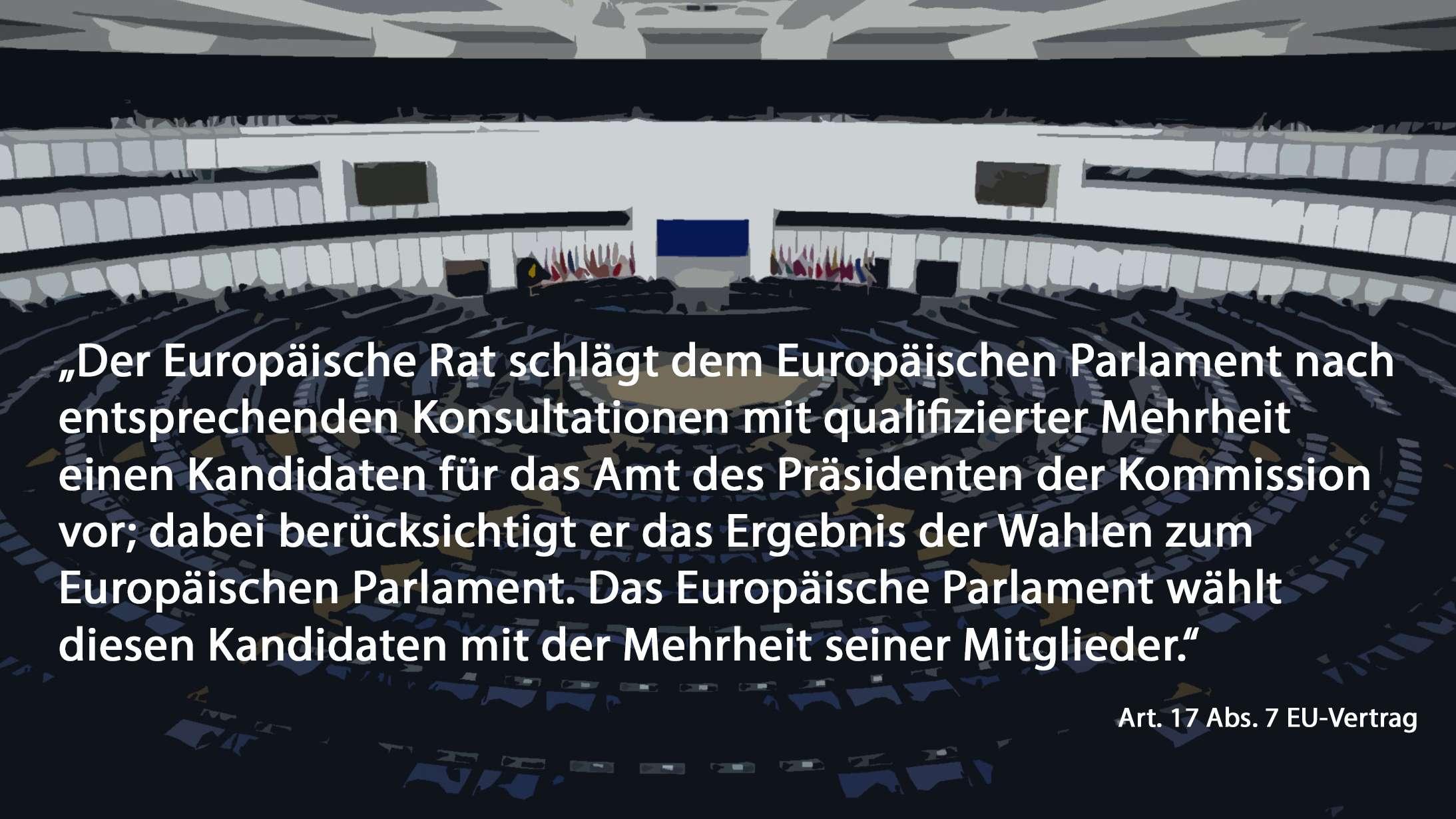 Artikel 17, Absatz 7 des EU-Vertrags