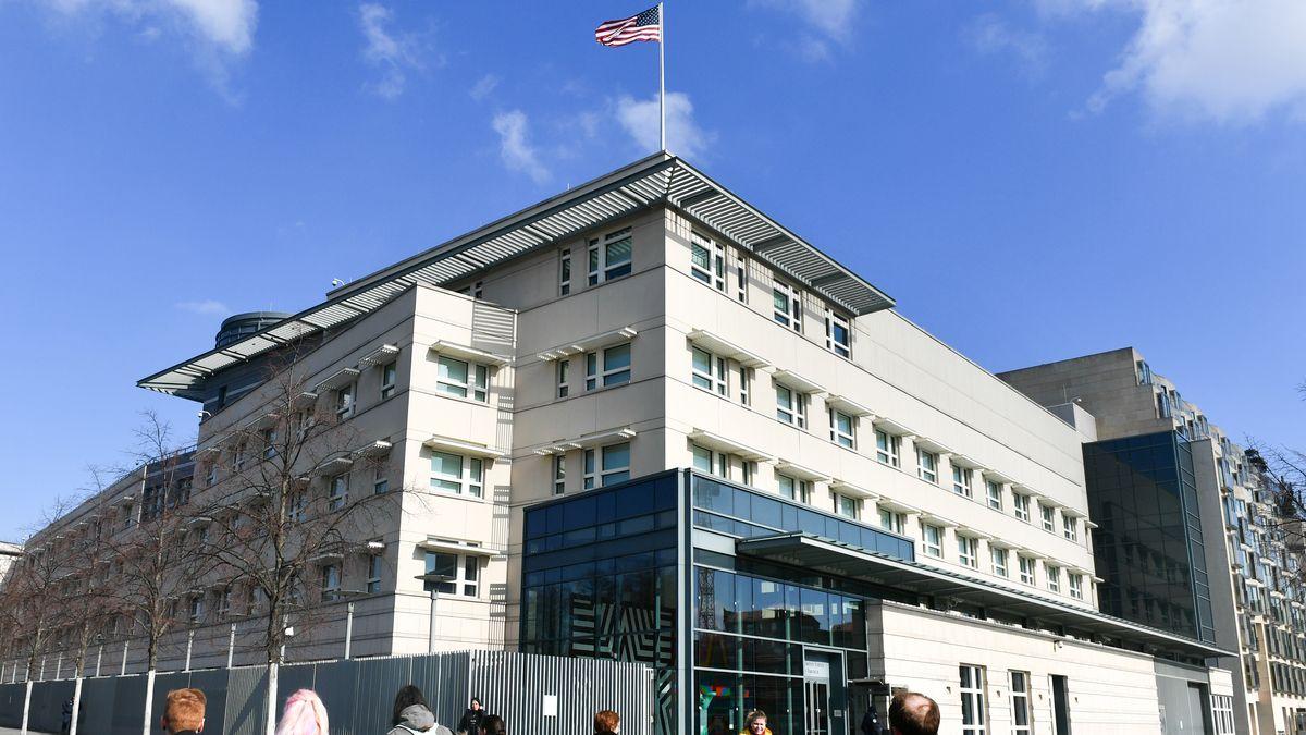 US-Botschaft in Berlin am Pariser Platz