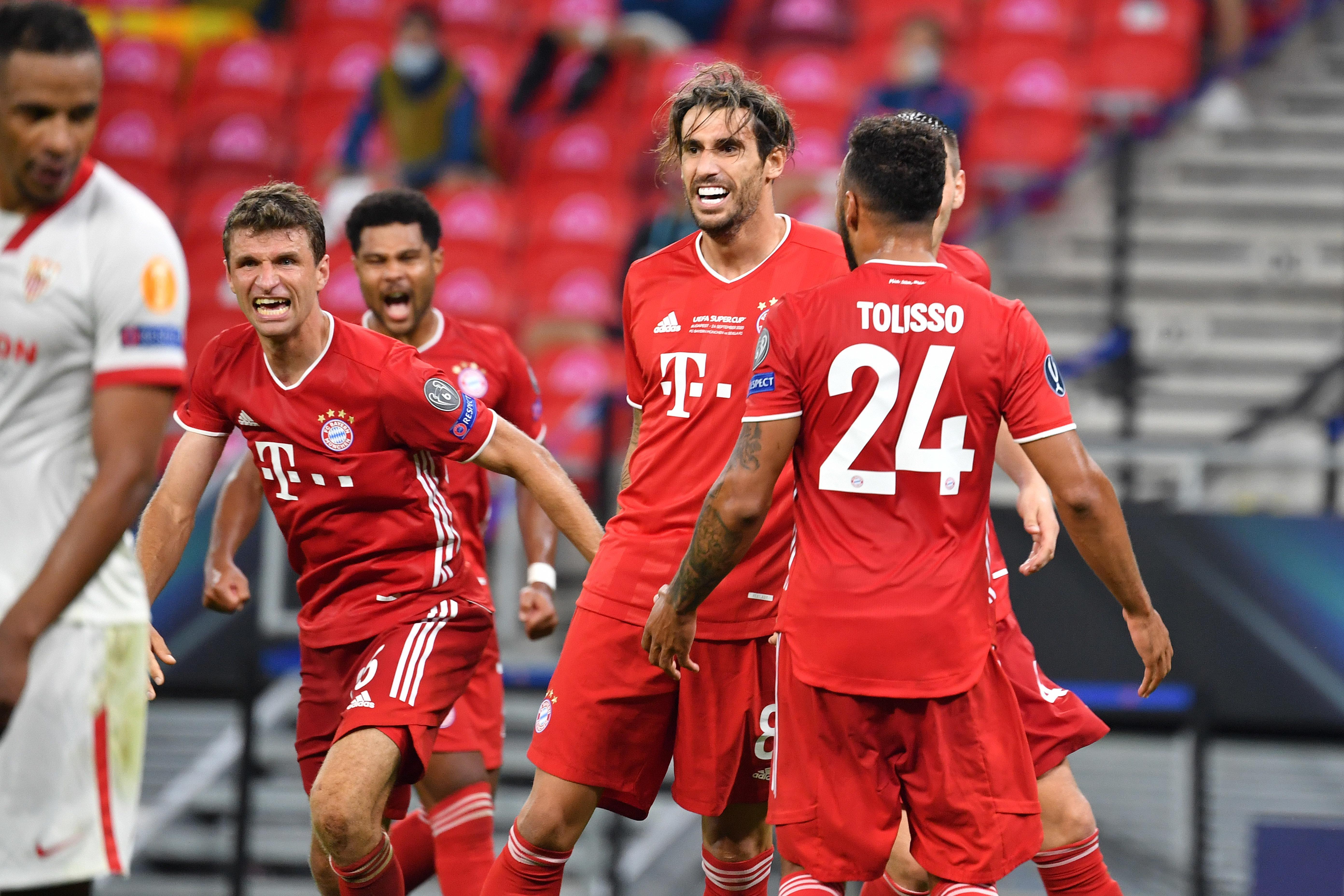 Bayern - Sevilla: Die Aufstellungen