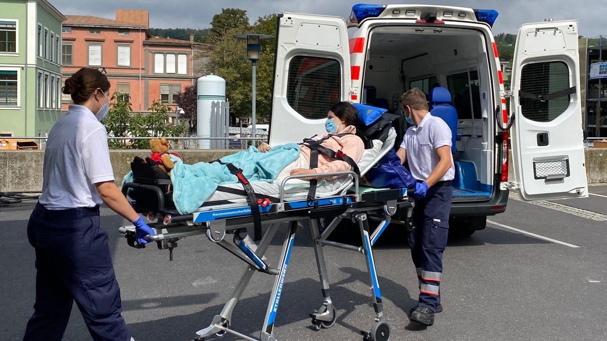 Würzburger Herzenswunsch-Krankenwagen der Malteser