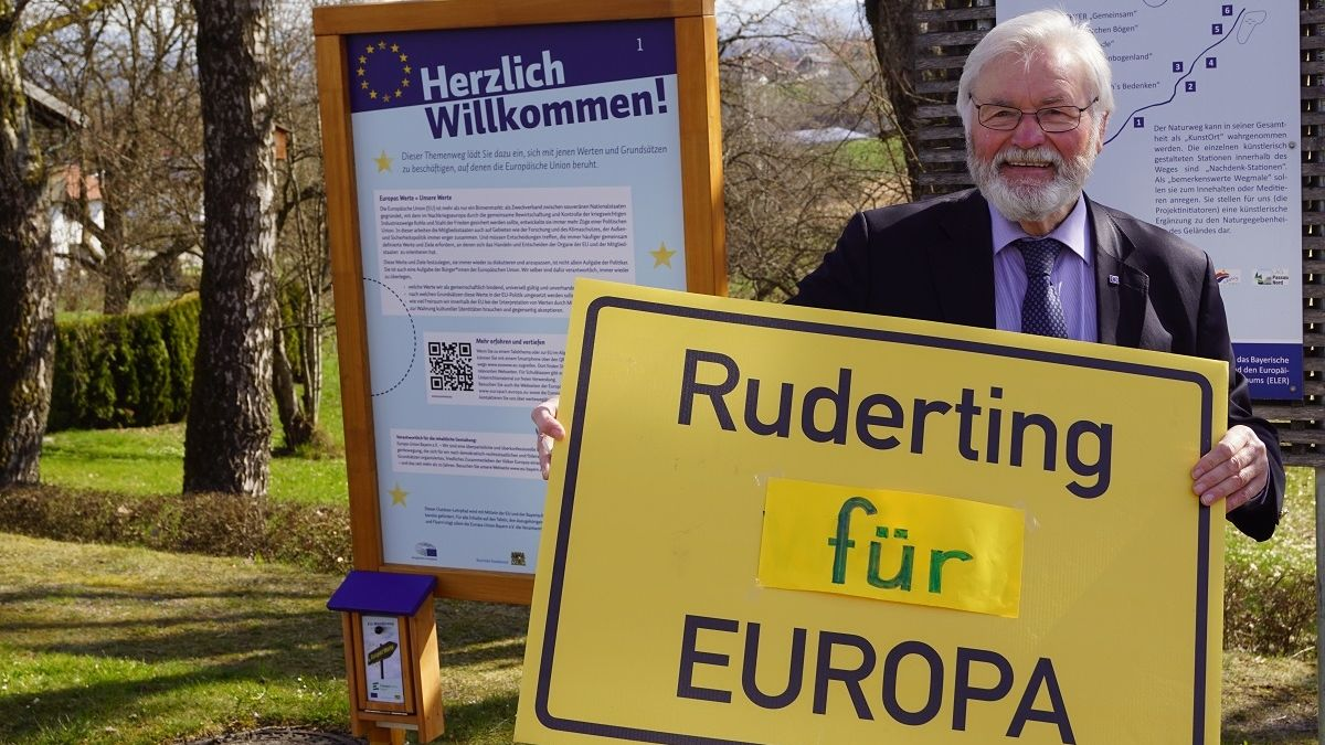 Europa-Werte-Wanderweg in Ruderting
