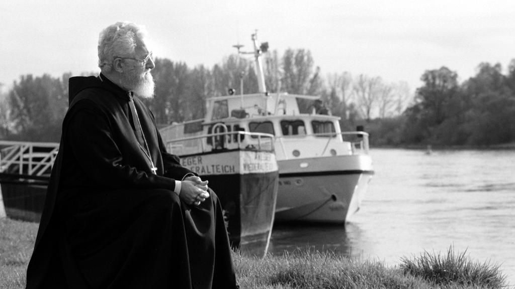 Emmanuel Jungclaussen an der Donau bei Niederaltaich