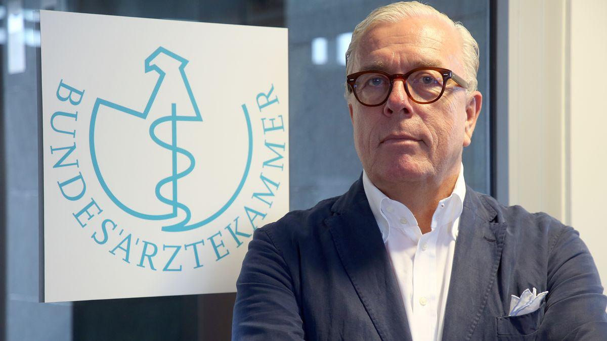 Der Präsident der Bundesärztekammer, Klaus Reinhardt
