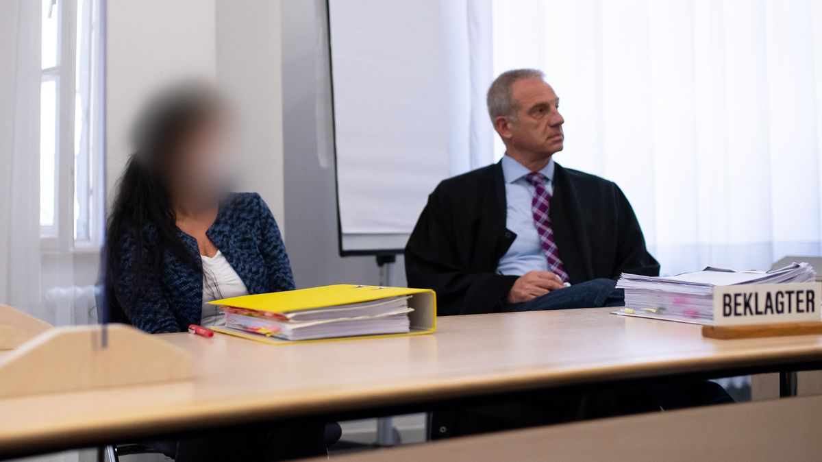 Die beklagte Heilpraktikerin vor dem OLG in München
