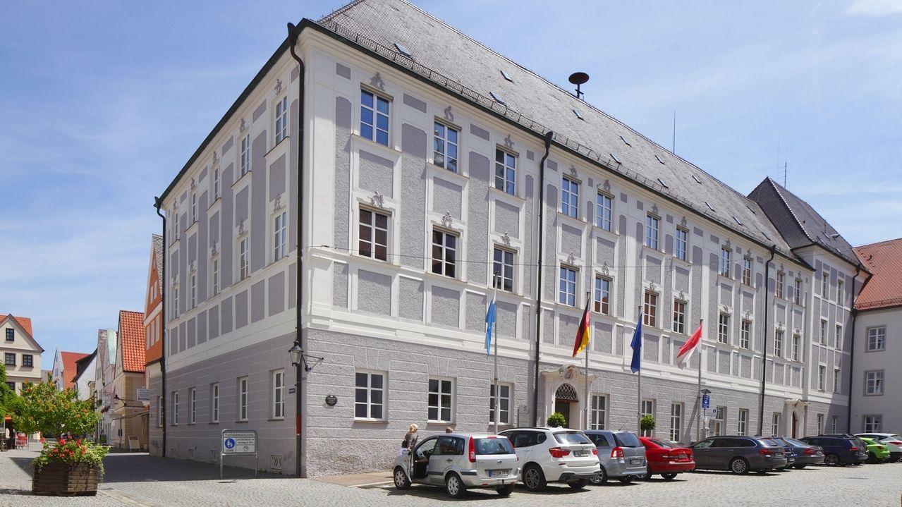 Das Rathaus der Stadt Günzburg