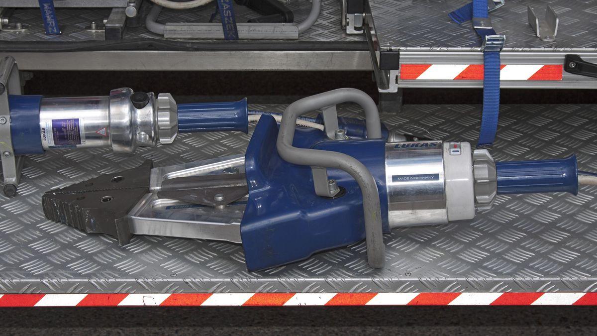 Rettungsspreizer der Feuerwehr - Symbolbild