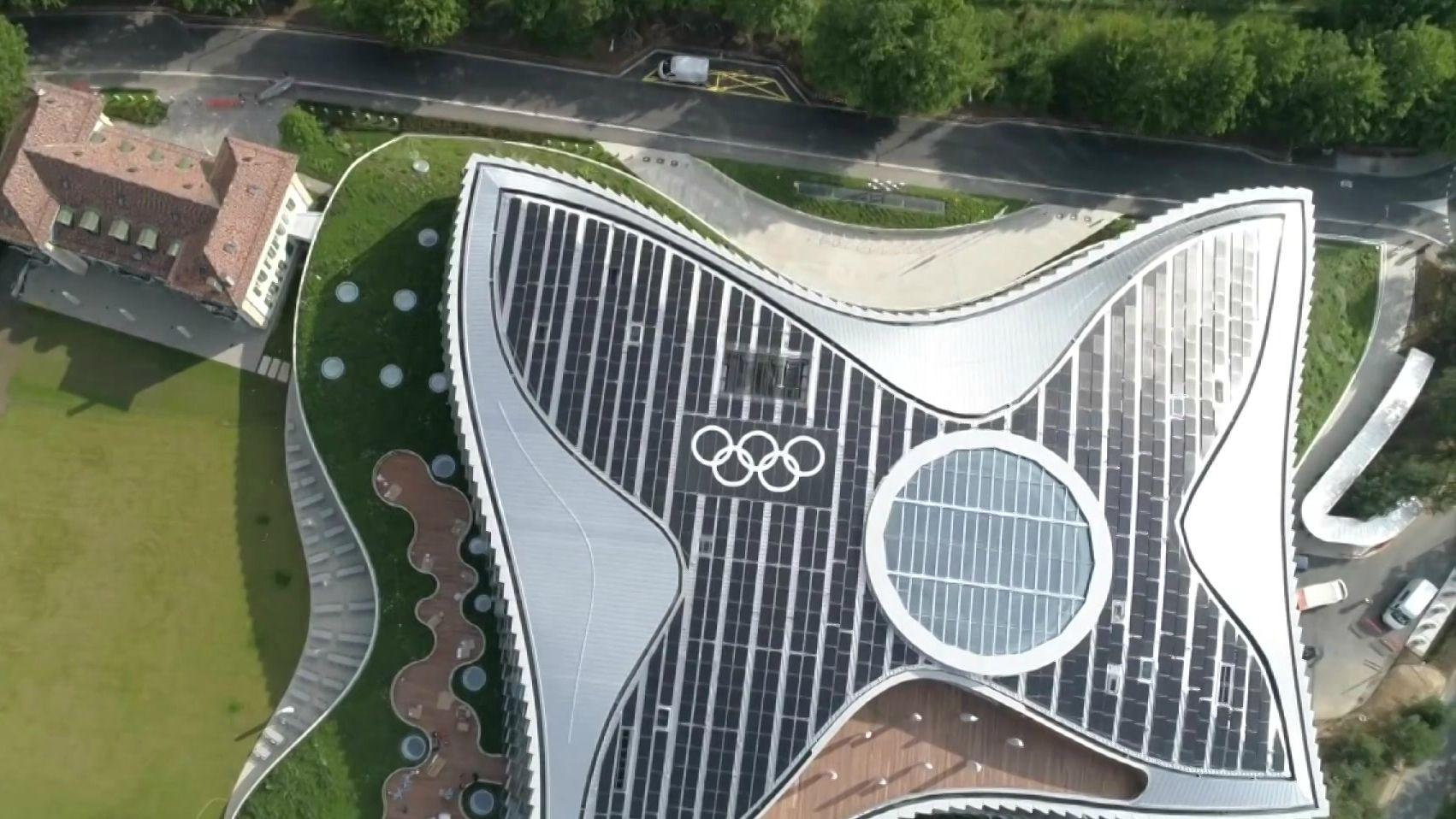 Gebäude: Olympische Spiele in Tokio